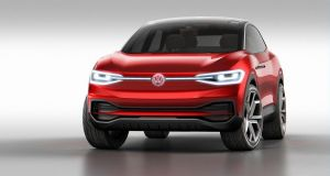 Volkswagen has revealed its updated ID Crozz concept car at its regular pre-show bash ahead of the Frankfurt motor show