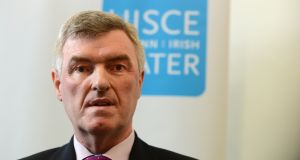 John Tierney worked in local government for 36 years before joining Irish Water. File photograph: Cyril Byrne/The Irish Times