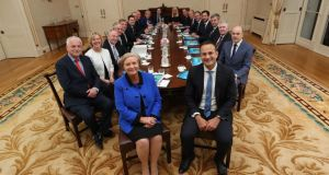 Cabinet subcommittees: Leo Varadkar signalled soon after he succeeded Enda Kenny as Taoiseach that he wanted to reduce the number of groups. Photograph: Maxwells
