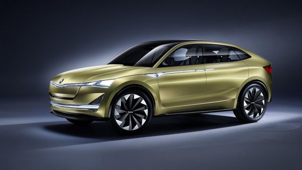 Skoda's Vision E: reveals the new styling direction for the brand, but will also make it into production