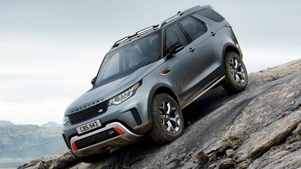 Land Rover SVX: set to go into production