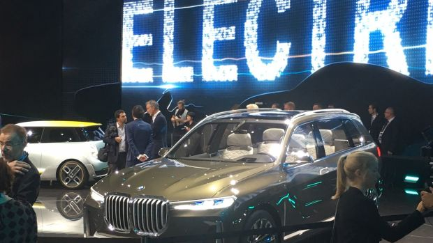 BMW i Vision Dynamics: A look into BMW's EV future