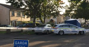 A man in his 30s has been shot on Wheatfield Ave, Neilstown in Dublin. Photograph: Jack Power