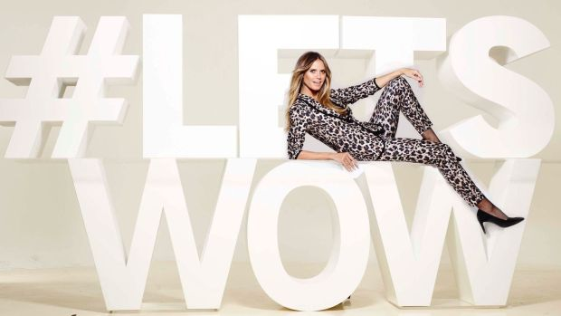 "Lidl's new collection with Heidi Klum is ""a tribute to New York and all the city's self-confident women"" ."