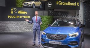 Opel's new Grandland: aiming to win favour with current Nissan Qashqai customers