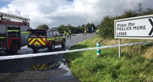 Three people – including a child – died after a crash near Claremorris in Co Mayo on Monday. Photograph: Conor McKeown