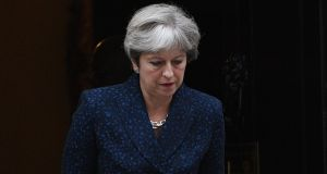 British prime minister Theresa May: The two-day debate on the legislation exposed widespread concern on the Conservative backbenches, even among Brexiteers, about the use of Henry VIII powers. Photograph: Facundo Arrizabalaga/EPA
