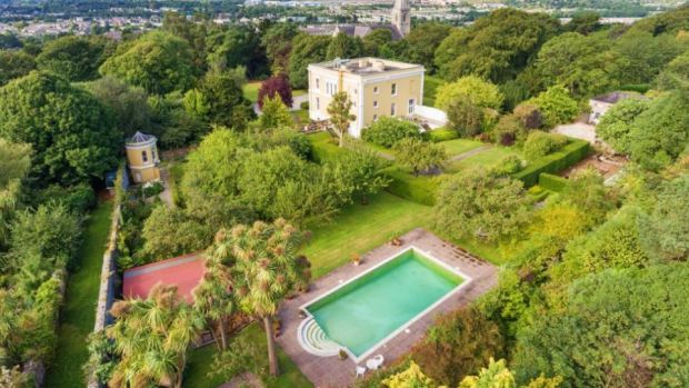 Montebello, Killiney Hill Road, Co Dublin, extends to almost 8,000sq ft and sits on nearly four acres of secluded, pristine grounds.