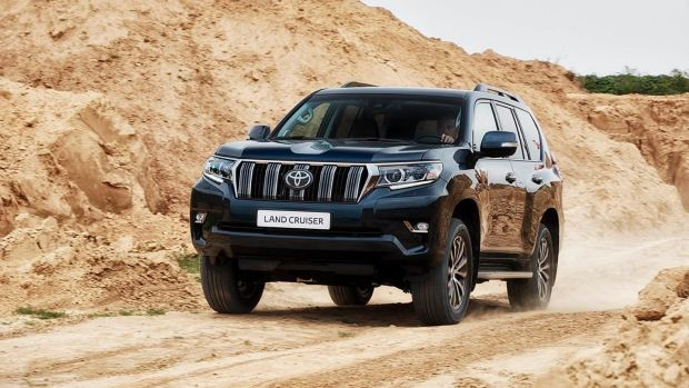 Toyota's Landcruiser gets a facelift
