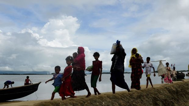 UN says 370000 Rohingya now in Bangladesh
