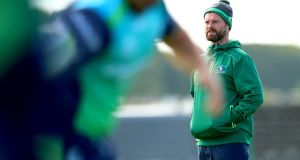 "Connacht backs coach Nigel Carolan: ""Historically Connacht never had it easy at Rodney Parade and we can't hide from that fact."" Photograph: James Crombie/Inpho"