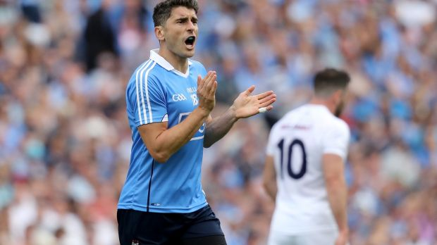 Bernard Brogan: former footballer of the year brings a wealth of experience of the big day. Photograph: Oisín Keniry/Inpho