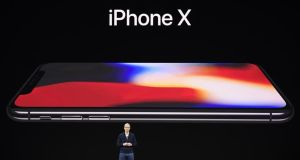 iPhone X revenue: France has persuaded Germany, Italy and Spain to advocate taxing the turnover rather than the profits of Apple and other digital companies. Photograph: David Paul Morris/Bloomberg