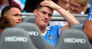 Diarmuid Connolly: would straight away become the best non-injured player ever to be held out of an All-Ireland final starting line-up. Photograph: James Crombie/Inpho