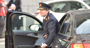 "Nóirín O'Sullivan: ""The last Garda commissioner was in and out to so many public forums that she wasn't able to do her job,"" according to Dermot Ahern. Photograph: Alan Betson"