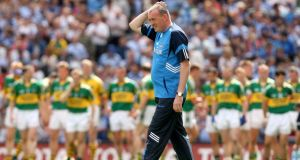 Pat Gilroy: saw Dublin swept aside by a rampant Kerry in 2009 quarter-final but within two years led his county to victory over Kerry in the final. Photograph: James Crombie/Inpho
