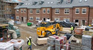 Apartment supply is the main concern when it comes to building costs, with house building seen as satisfactory by sources. Photograph: Neil Hall/Reuters