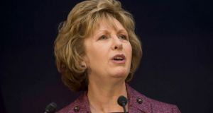 "Prof Mary McAleese says it is ""misleading"" of the Vatican to tell the committee in 2013 that the terms ""corporal punishment"" or ""punishment"" were not used in the ""Catechism of the Catholic Church"". Photograph: Daragh McSweeney/Provision"