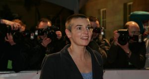 Sinead O Connor discussed her struggles with mental health with the US chat-show host Dr Phil. Photograph: Cyril Byrne