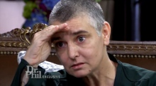 Sinead O'Connor appears on US chat show to promote mental health