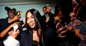 "Naomi Campbell's style advice: ""Wear whatever you feel comfortable in."" Photograph: Deidre Schoo/The New York Times"