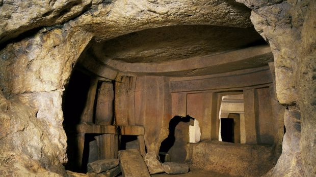The Hypogeum of Hal-Saflieni is a Neolithic underground temple dating from 3,300 to 3,000BC