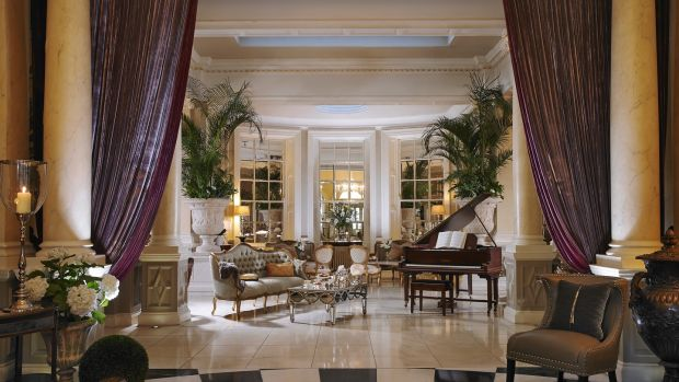 The lobby of The Malton hotel in Killarney, which will be renamed The Great Southern Killarney - a name it held for more than a century - in January 2018