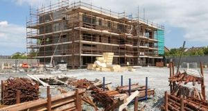 The Construction Industry Federation said  Irish building regulations would be at odds with the international ones. Photograph: Joe O'Shaughnessy