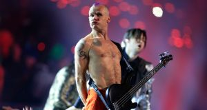 Ah tis yourself Flea, we haven't seen you in a while. Photograph:  Rob Carr/Getty Images