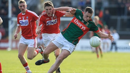 Diarmuid O'Connor's extra-time point helped Mayo get their noses in front against Cork. Photograph: Donall Farmer/Inpho