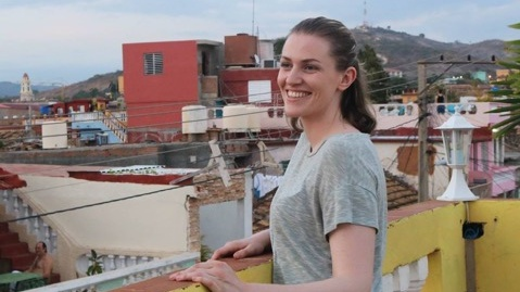 Maedbh King is in the first year of a five-year PhD programme in cognitive neuroscience at the University of California, Berkeley