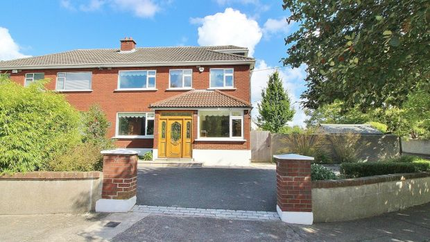 Five-bed, three-bath, semi-detached at 76 Foxfield Road, for €700,000. Agent: DNG.