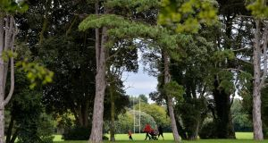 St Anne's Park, Dublin's second-largest park, is the green lung of Raheny, and offers public tennis courts, an organised 5km run and a market every Saturday. Photograph: Alan Betson/The Irish Times