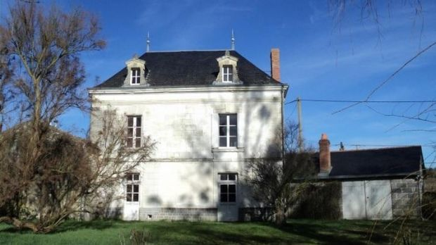 Manor house in Mouterre-Silly, Vienne, Poitou Charentes, France