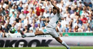 Marco Asensio will miss Real Madrid's  Champions League opener on Wednesday night due to an infection caused by shaving his legs. Photograph: Susana Vera/Reuters