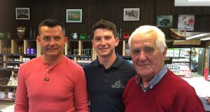 David, Cillian and Eddie Sexton of Kildare Farms Foods, which stands on 140 acres in Rathmuck, Co Kildare, and employs more than 60 people.