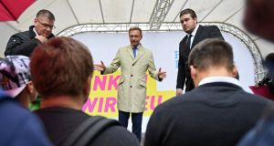 FDP leader Christian Lindner has framed his party's return for its pro-business voters as a successful reflotation. Photograph: David Hecker/EPA