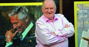 George Hook.  Photograph: Eric Luke