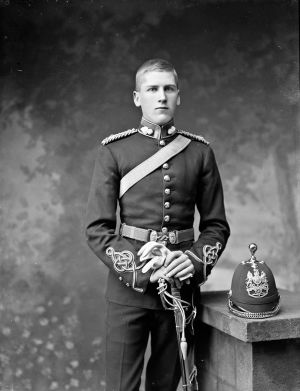 An image of 2nd Lt Edward Francis Frazer, a great-uncle of actor Mia Farrow. Photograph: Unknown