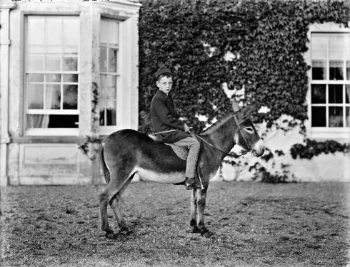 Edmund Becher at Castle Farm House, Lismore, Co Waterford. Photograph: Poole Photographic Studio