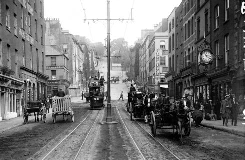 A view of Bridge Street and St Patrick's Hill, Cork city. Photograph: Robert French