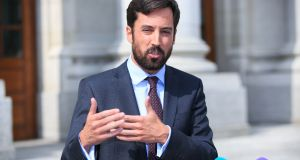 Minister for Housing Eoghan Murphy has said all possible solutions to the housing crisis would be looked at. Photograph: Gareth Chaney/Collins
