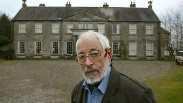 JP Donleavy, the expatriate American author, at Levington Park, his home in Mullingar, Ireland, June 2, 2006. Photograph: Derek Speirs/The New York Times