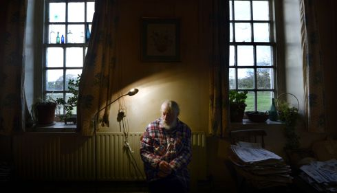 At home in 2014.Photograph: Brenda Fitzsimons/The Irish Times