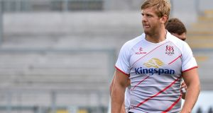 Chris Henry will captain Ulster on Friday night. Photograph: Stephen Hamilton/Inpho