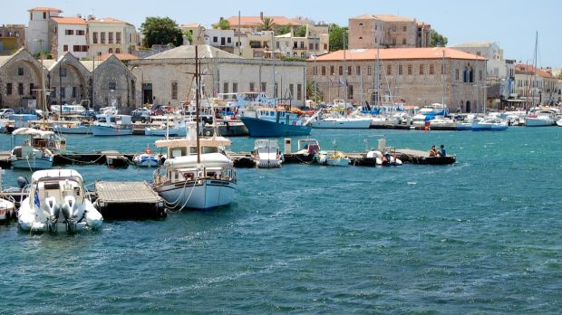 Take an all-inclusive holiday in Crete and visit the Venetian port at Chania