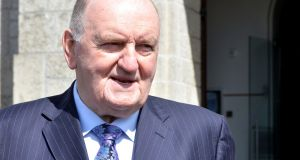 George Hook: his vow of on-air omertà has also apparently been taken by his colleagues. Photograph: Alan Betson