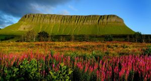 "Benbulbin, Co Sligo: its level ""summit"" seems  to suggest a magical hidden space"
