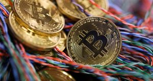 Bitcoin: five-day losing streak. Photograph: Chris Ratcliffe/Bloomberg