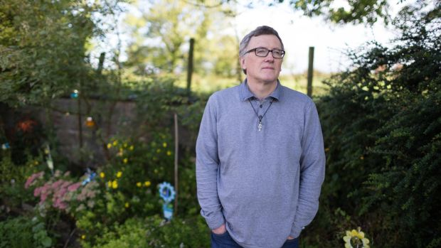 Patrick Stack at home in Kilmaley, Co Clare. Photograph by Eamon Ward (for Magazine feature)